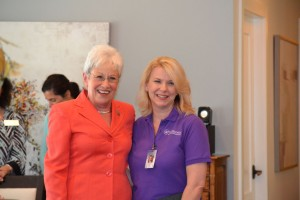 We were honored to have Connecticut Lieutenant Governor Nancy Wyman on hand to congratulate our 2017 CNA of the Year, Lisa Ford.