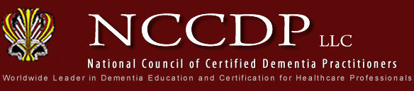 National Council of Certified Dementia Practitioners (NCCDP)