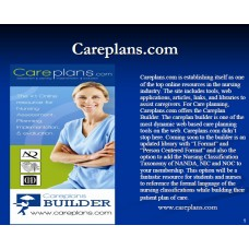 In-service: What's wrong with Care Plans, and how to get it right!