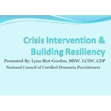 In-service: Crisis Intervention and Building Resiliency for your staff