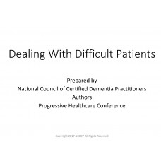 In-service: Dealing with Difficult Patients