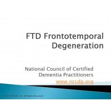 In-service: Understanding Frontotemporal Degeneration