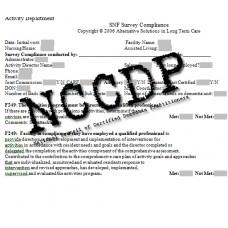 Comprehensive Activity Department Audit Tool