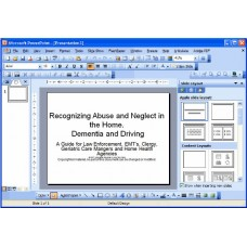 In-service: Recognizing Abuse and Neglect in the Home plus Dementia and Driving