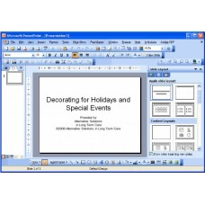 In-service: Decorating for Holidays and Special Events