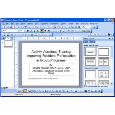 In-service: Improving Resident Participation in Group Programs
