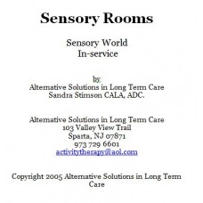In-service: Sensory Rooms