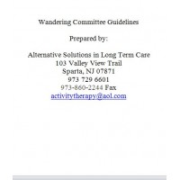 Wandering Committee Guidelines