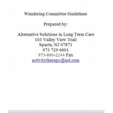 Wandering Committee Guidelines