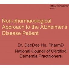 In-service: Non-pharmacological Approach to the Alzheimer's disease patient