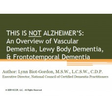 In-service: Lewy Body Dementia-When It is Not Alzheimer's disease