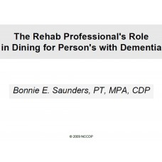 In-service: Reversible Dementia's