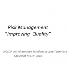 In-service: Risk Management - Improving Quality