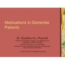 In-service: Medications in Dementia Patients
