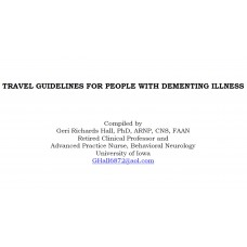 In-service: Travel Guidelines for People with Dementia